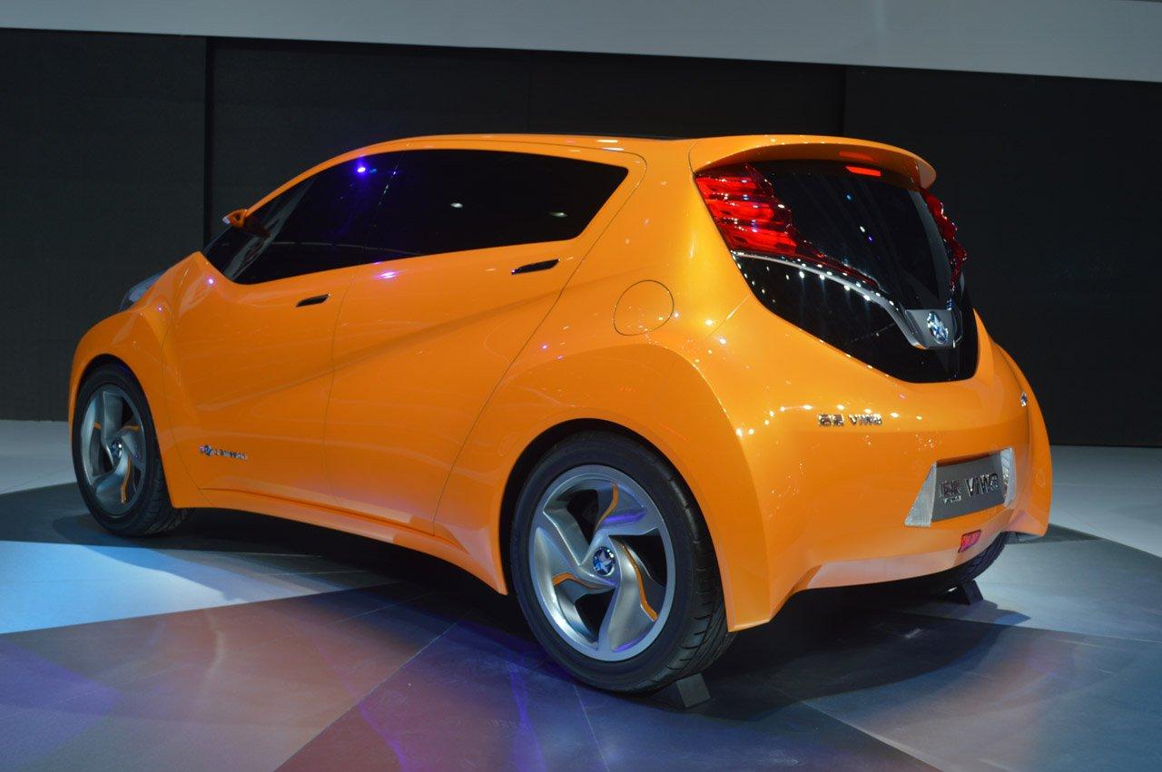 Концепт Nissan и Dongfengу видел мир