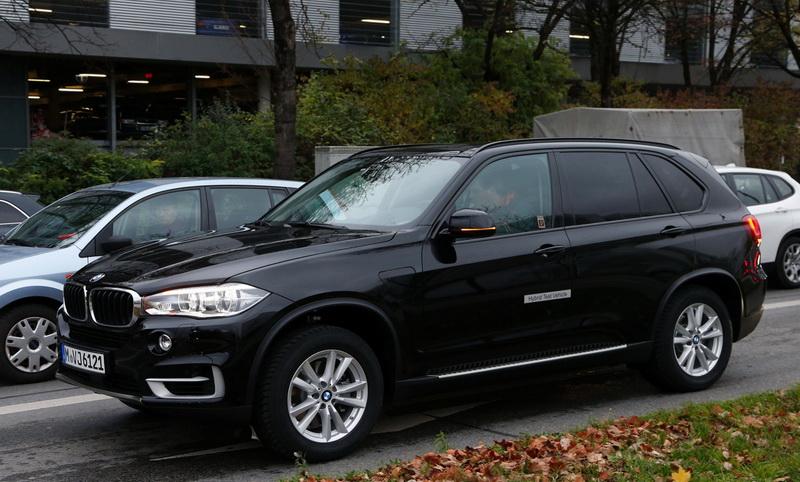 BMW X5 eDrive - фото шпионов