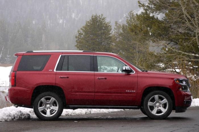 Chevrolet Tahoe модельного ряда 2014 года