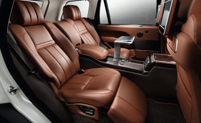 Салон удлинённого Range Rover