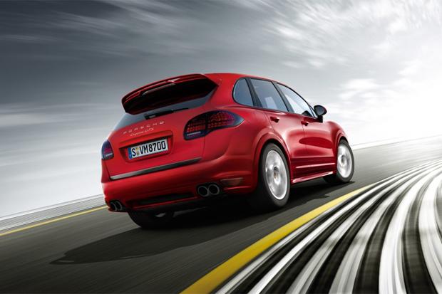 Скорость Porsche Cayenne  впечатляет