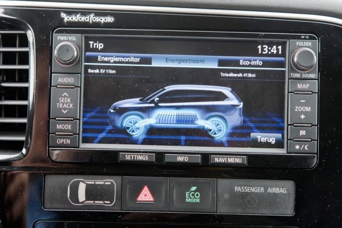 Бортовой компьютер Mitsubishi Outlander PHEV 2014