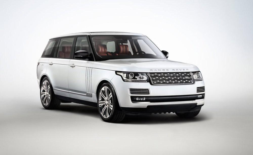 Удлинённый Range Rover