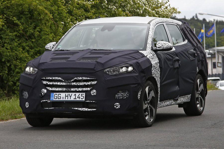 Hyundai ix35 2015. Шпионское фото
