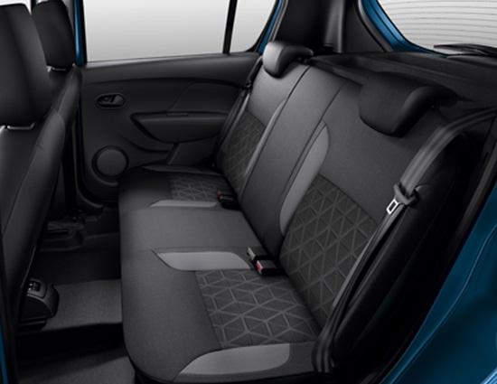 Задние сиденья Renault Sandero Stepway 2014