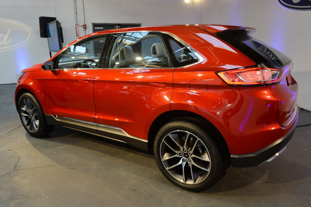 обновленный ford edge 2015