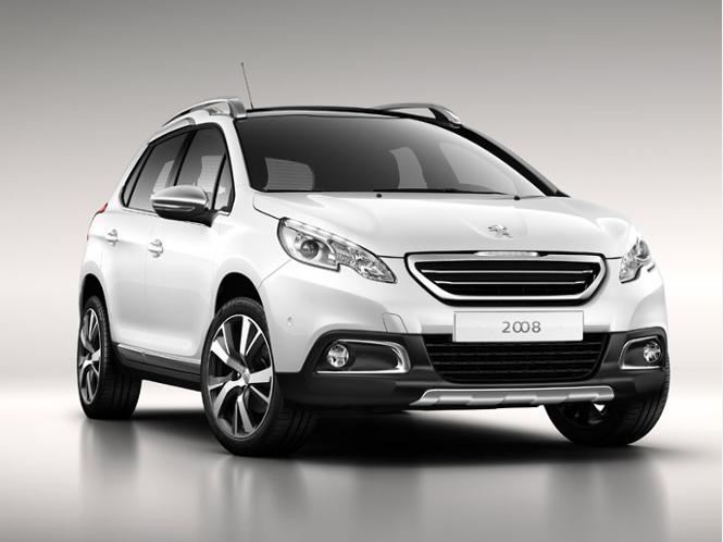 Белый Peugeot 2008