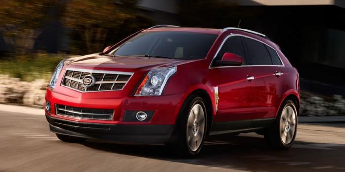 Cadillac SRX 2014 в движении