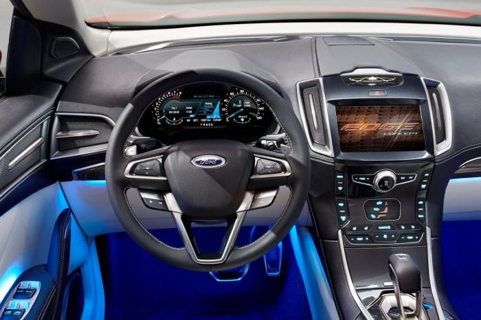 салон нового ford edge