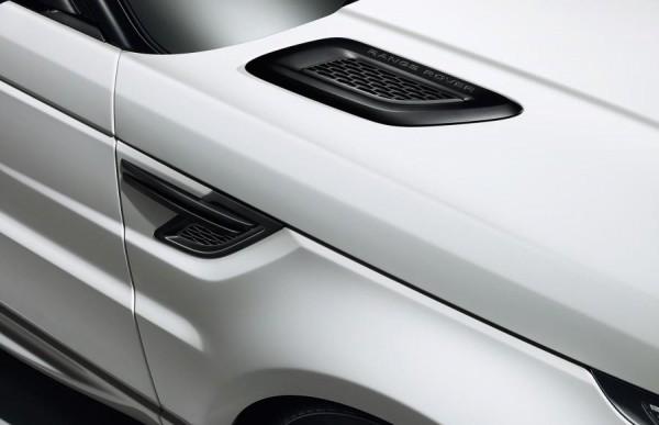 новый дизайн воздухозаборников range rover