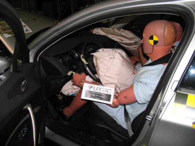 Защита пассажиров в JAC S5