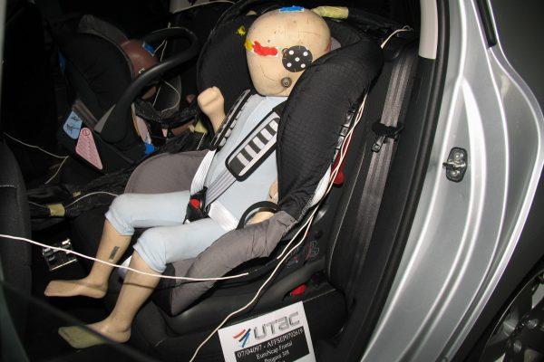 Ребенок в Peugeot 2008 надежно защищен