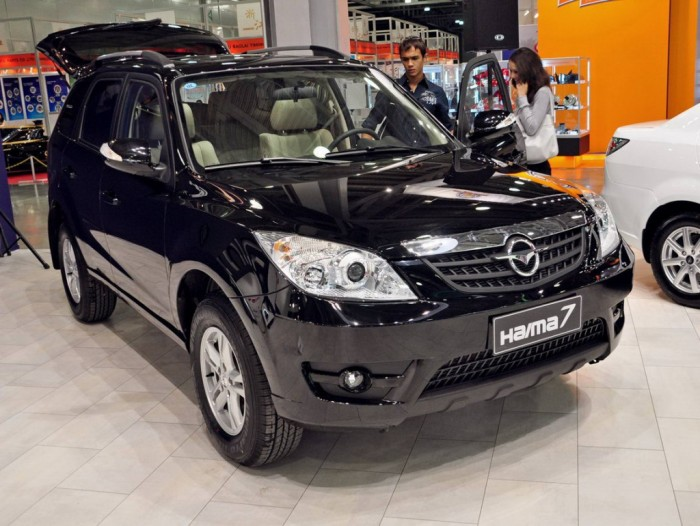 Haima 7 на автомобильной выставке