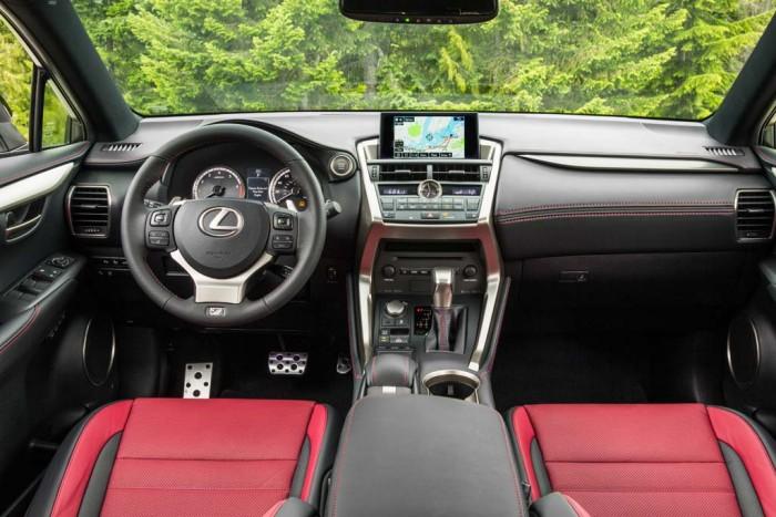 Салон Lexus NX