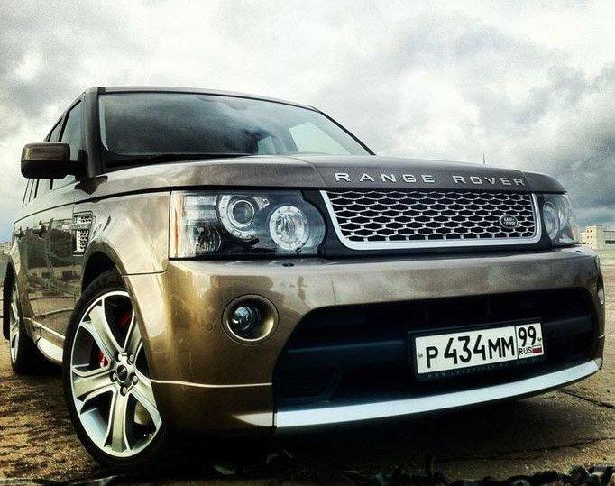 Внедорожник Land Rover