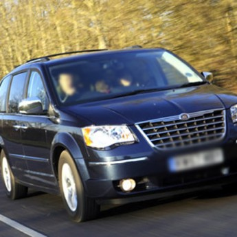 новый chrysler grand voyager