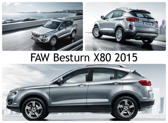 FAW Besturn X80 2015