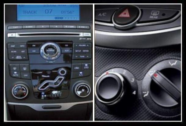 кондиционер и климат-контроль в разных автомобилях