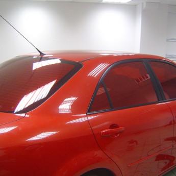 Красная тонировка стекол