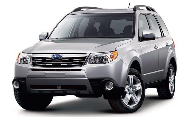Безопасный внедорожник Subaru Forester