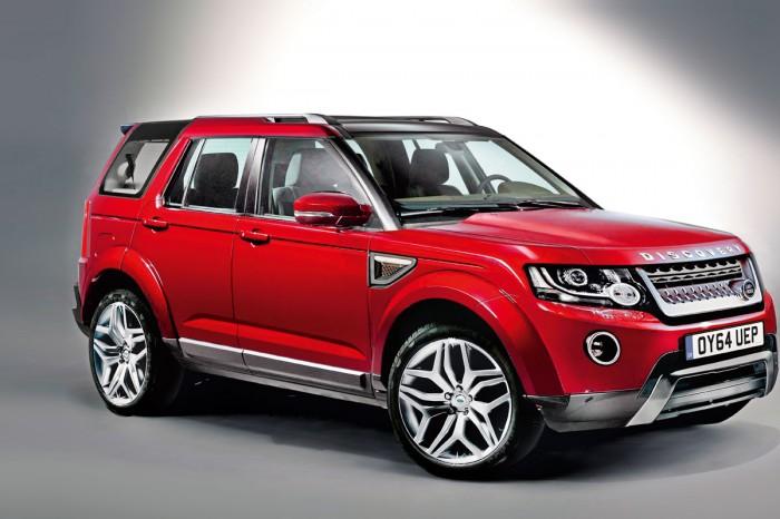 Новый внедорожник  Land Rover Discovery Sport