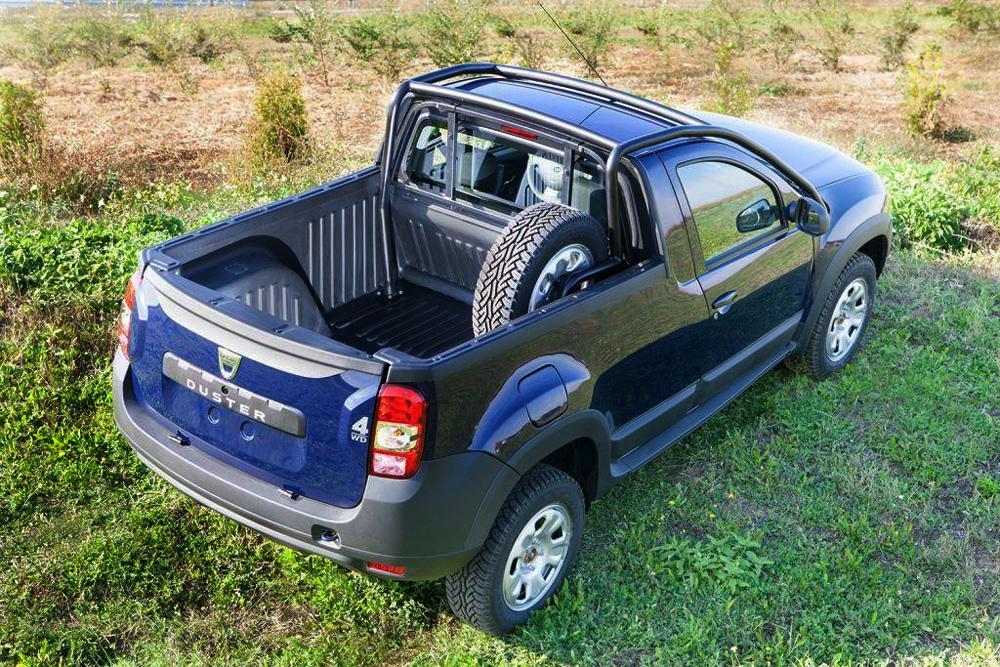 Новый пикап Dacia Duster