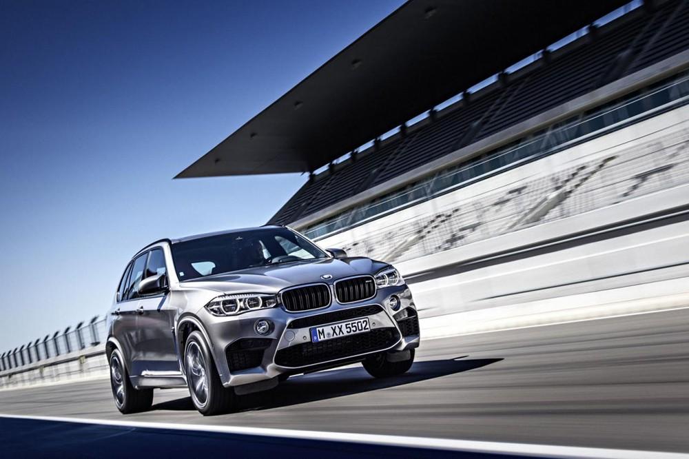 Новые версии BMW X5 M BMW X6 M