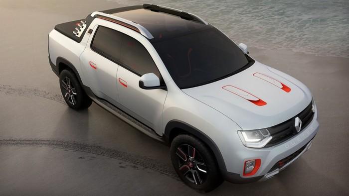 Новый пикап Renault Duster Oroch