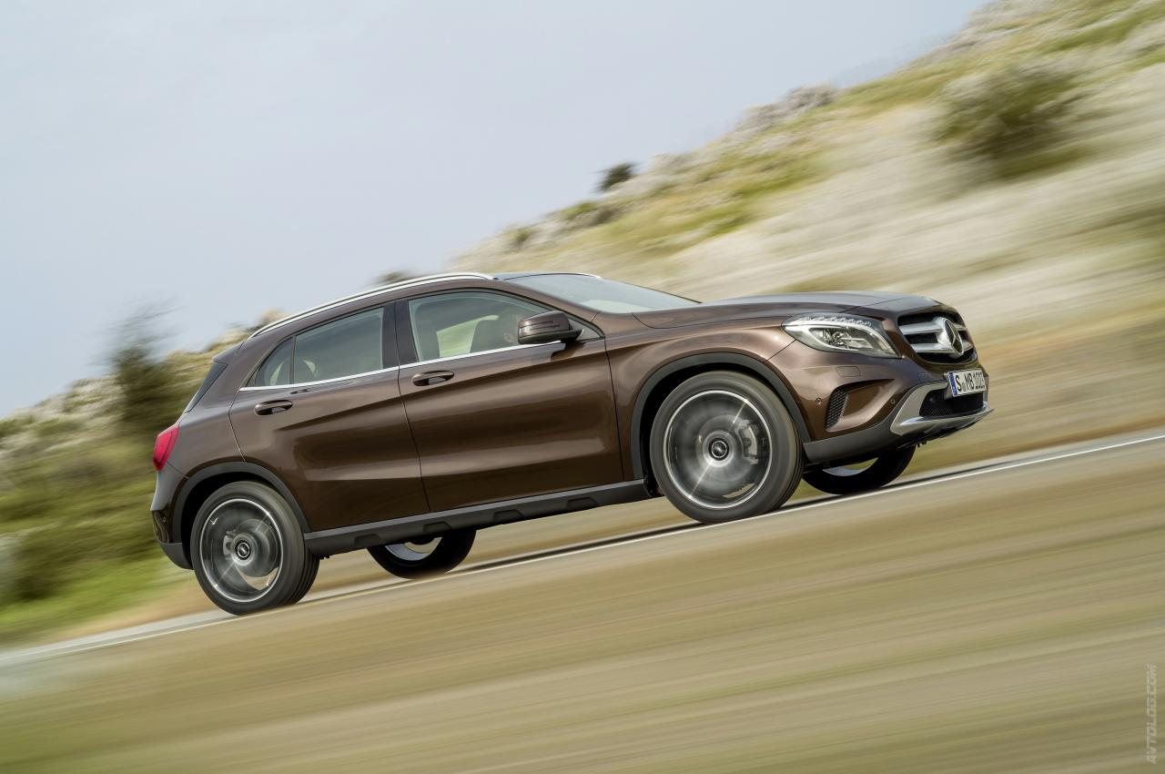 Mercedes-Benz GLA g фото