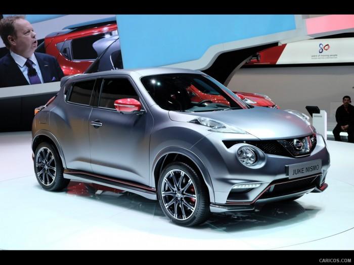 новый кроссовер Nissan Juke Nismo RS на выставке