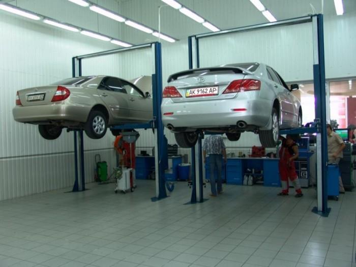 Обслуживание автомобилей