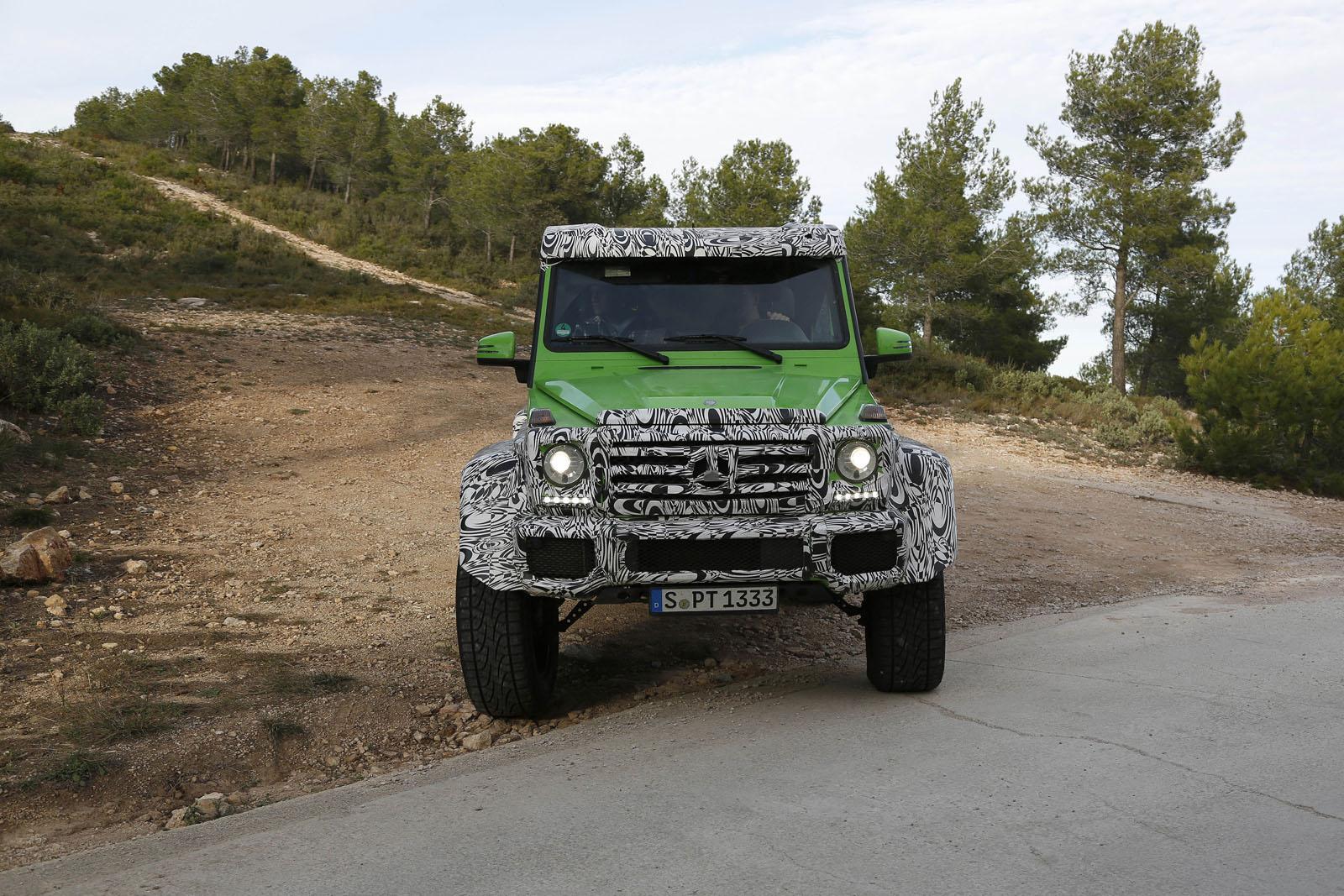 Огромный внедорожник AMG Green Monster