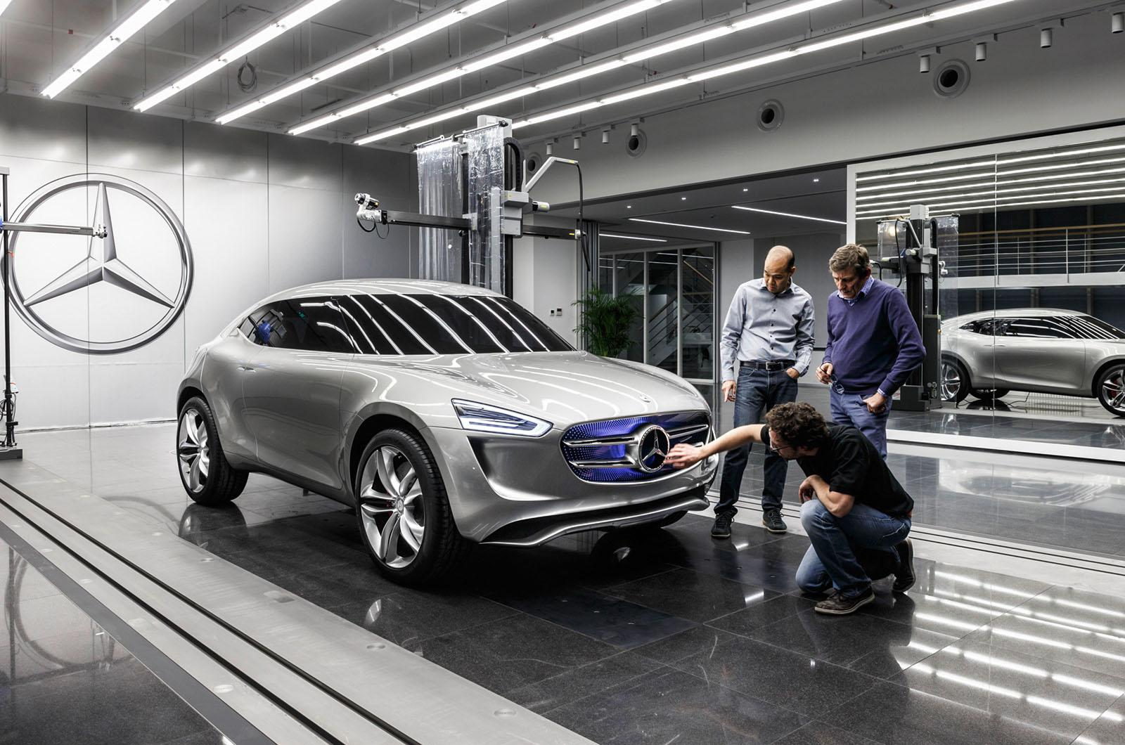 Концепт кроссовера Mercedes G-Code