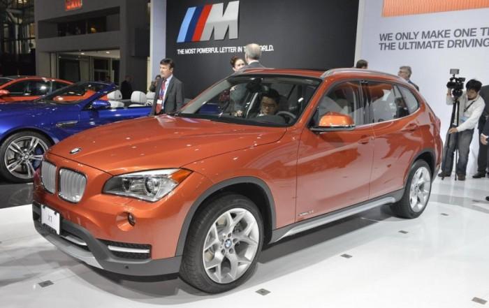 Новый компактный внедорожник BMW X1 на выставке