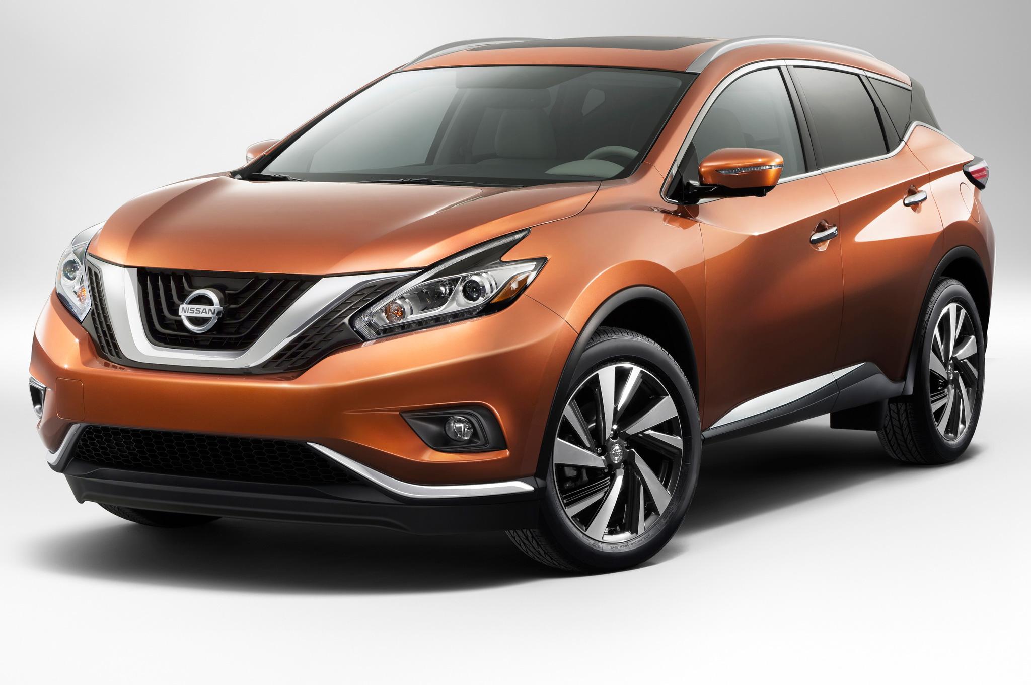 Новый кросовер Nissan Murano 2015