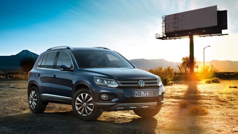 Новый внедорожник Volkswagen Tiguan Trend & Fun