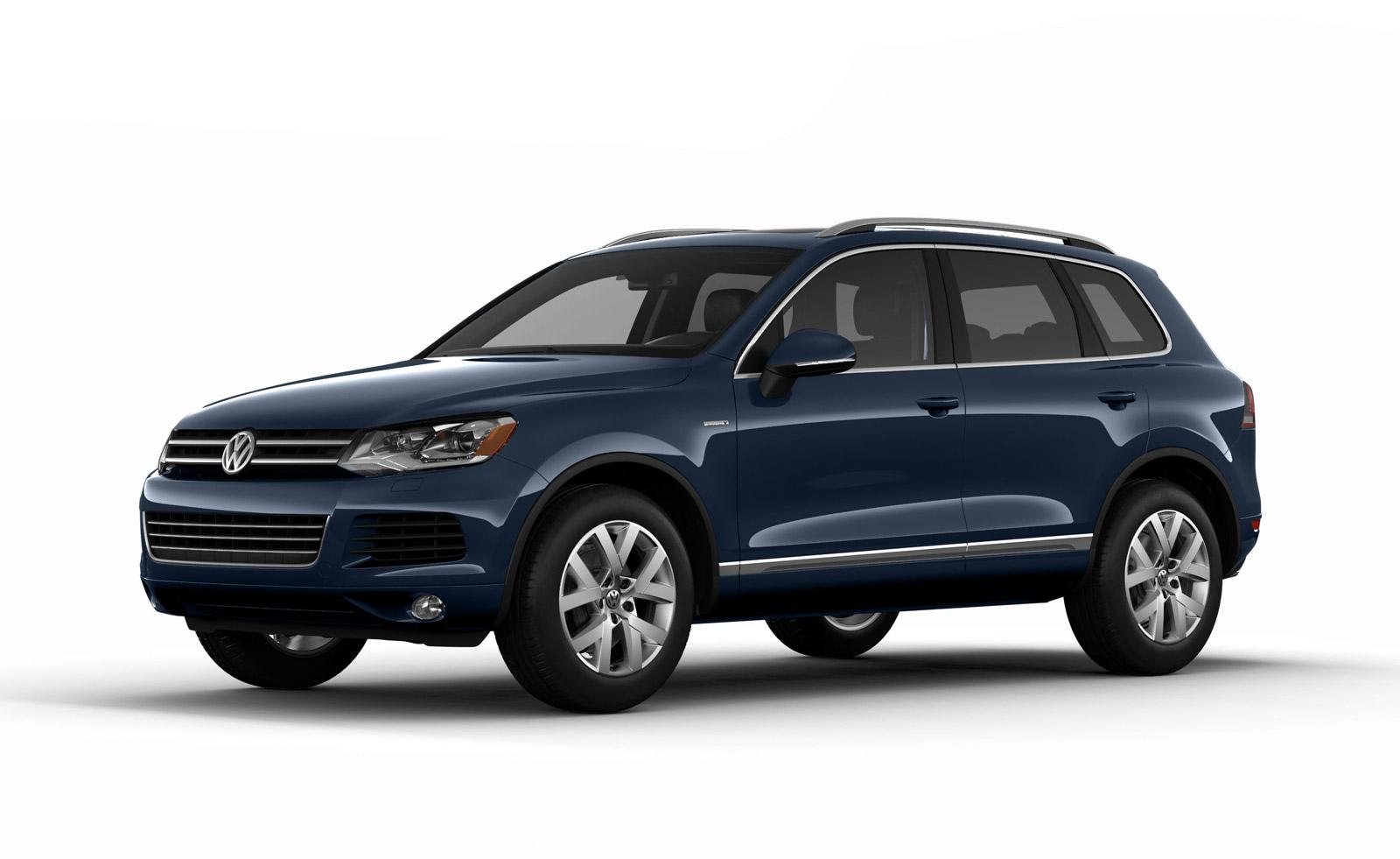 Новый Volkswagen Touareg 2014 года