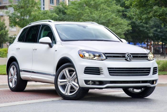 Новый внедорожник Volkswagen Touareg
