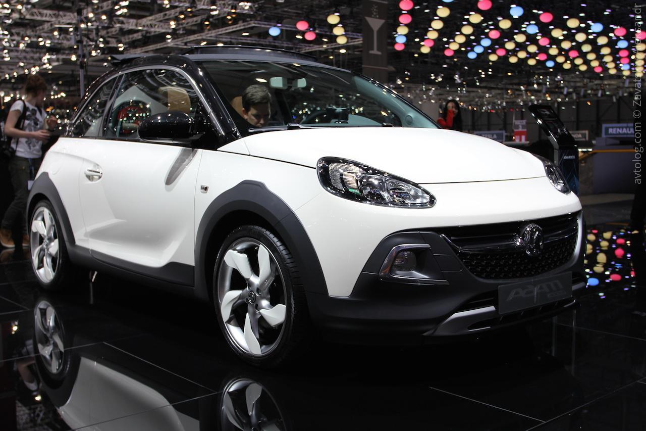 Самый компактный кроссовер в мире Opel Adam Rocks