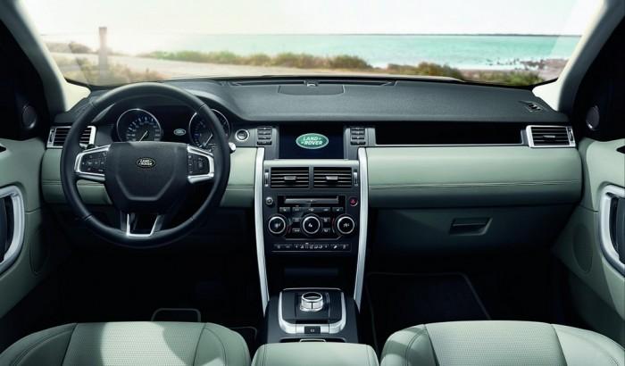 Водительское кресло в автомобиле Land Rover Discovery Sport