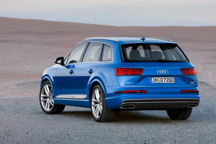Так будет выглядеть ммощный кроссовер Audi Q7