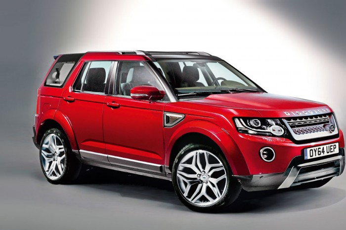 Land Rover Discovery Sport до прохождения краш-теста