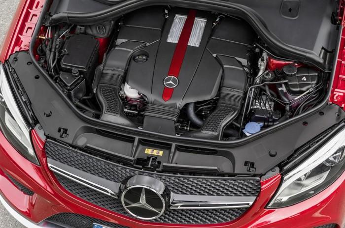 Силовые агрегаты автомобиля GLE Coupe