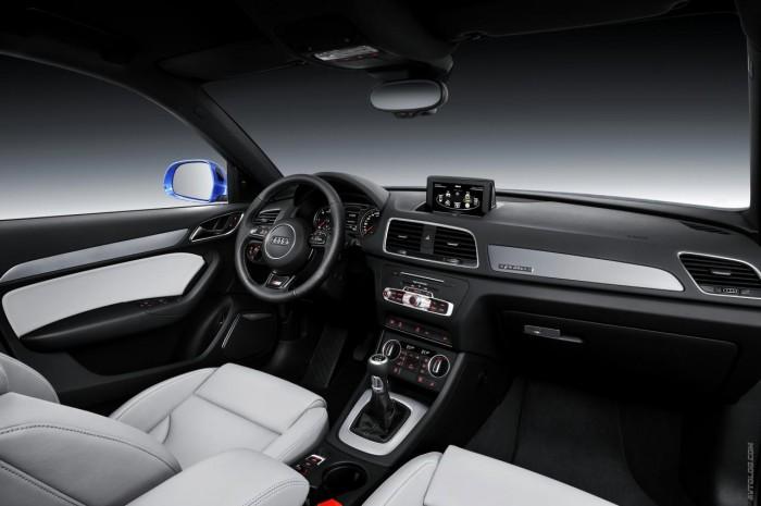 Интерьер Audi RS Q3