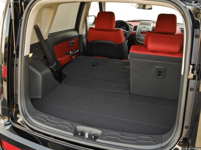 Багажник замечательного Kia Soul