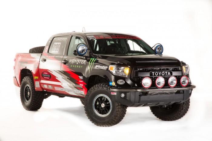 Тюнинг пикапов Toyota Tundra в раллийнйю версию