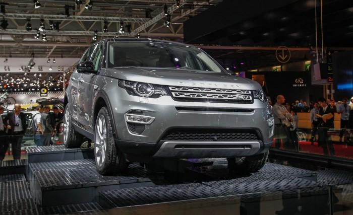 новый кроссовер Discovery Sport в РФ будет только в полноприводной версии