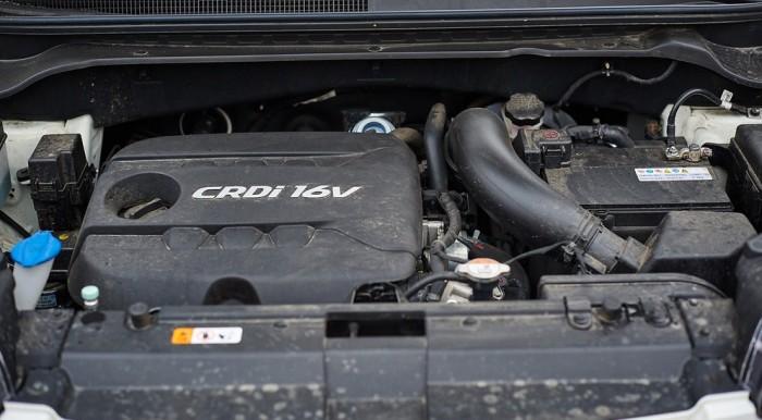 Дизельный двигатель довольно резвый, неплохая управляемость автомобилем