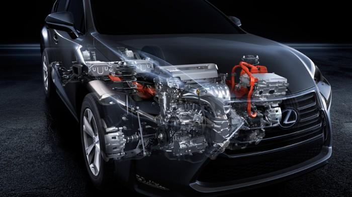 Система силовых агрегатов нового Lexus NS