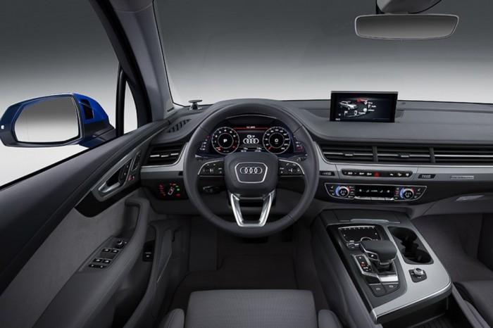 Салон Audi Q7